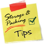 Storage and Packing Tips